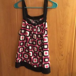 Polyester 92% 8% spandex ladies tank top
